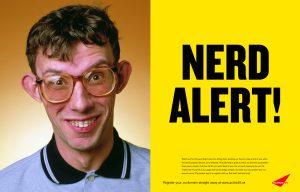 El significado de nerd y jock en inglés