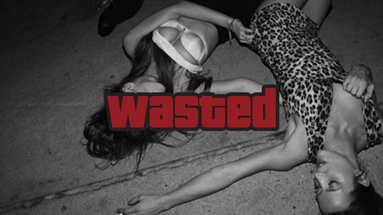 El significado de 'wasted' en inglés