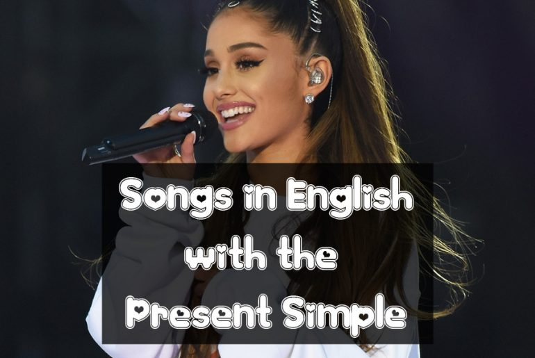 canciones en ingles con presente simple