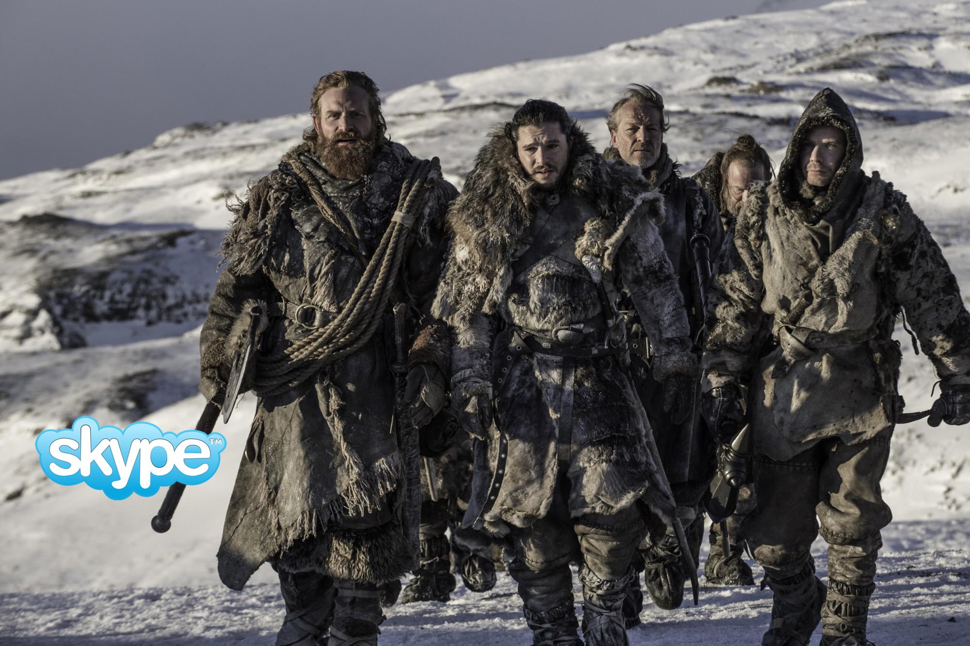 Clases de conversación por Skype – Hablamos de 'Game of Thrones'