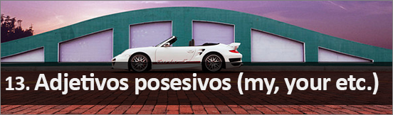 12_Adjetivos posesivos en inglés