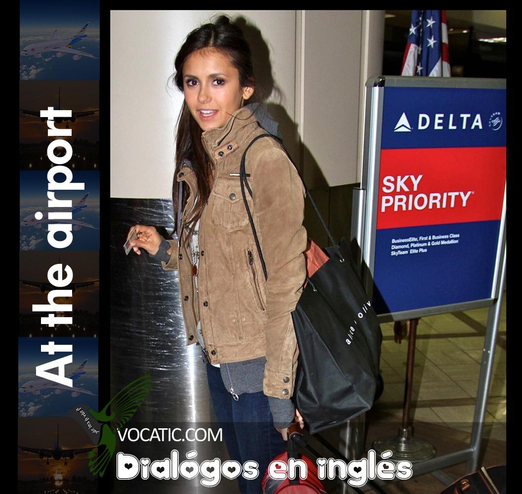 Un Diálogo En Inglés En El Aeropuerto